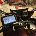 Garmin Zumo Installed FJR