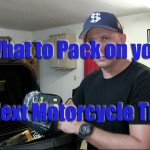 How to pack your motorcycle