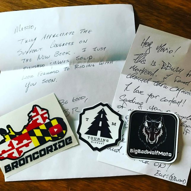 Love getting cool stuff in the mail from fellow YouTubers!hellip