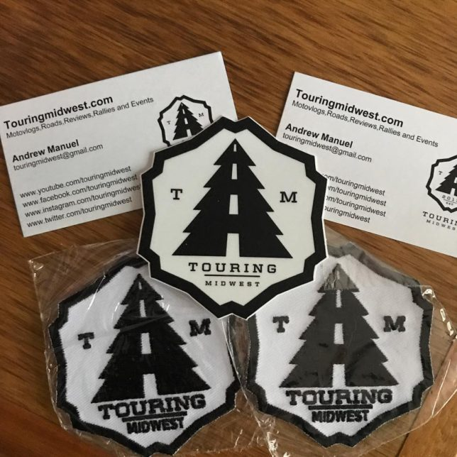 Got my patches and a bonus sticker from touringmidwest Excellenthellip