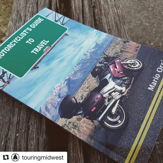 Andrew from Touring Midwest got his copy of Motorcyclists Guidehellip