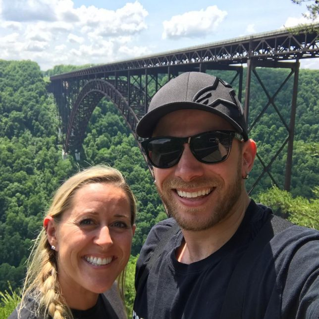 Stopped by New River Gorge Bridge yesterday during our ride