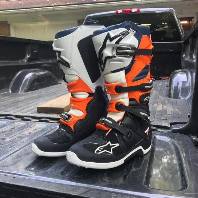 Theyll never be this clean again alpinestars tech7 dirtbike motorcyclehellip