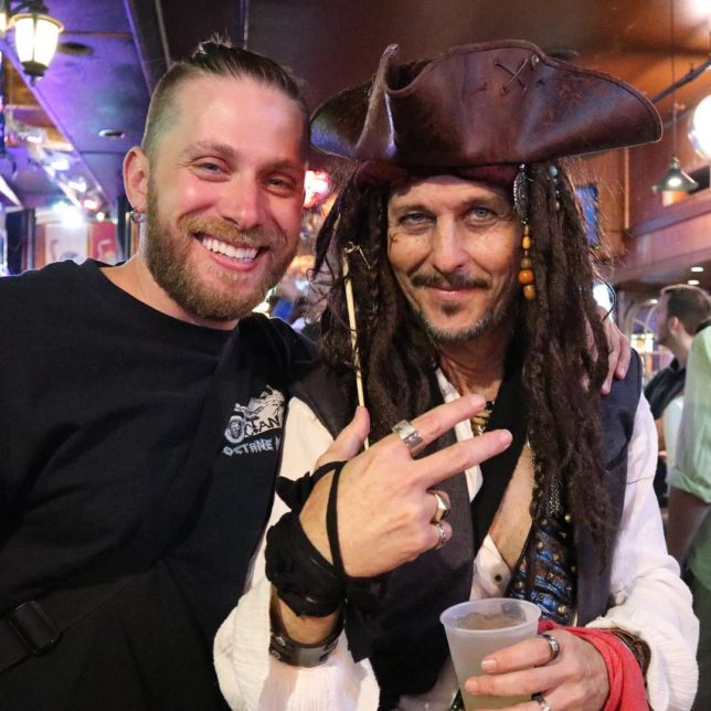 Its a pirates life for me savvy? tbt KeyWest captainjacksparrow
